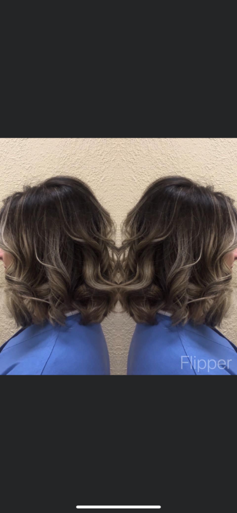 Picture of Sassy Layers Hairs Salon customer in Friendswood